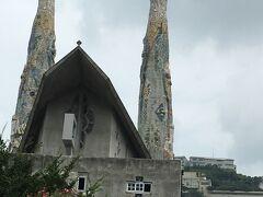 二つの塔には片方から人々の祈りや願い、感謝などが天にどくようにと もう片方には神からのお恵みや赦しを招き入れるという意味があるそうです。