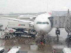 羽田も雨模様・・・明日の朝には東京直撃でしょう。 無事に戻ってこれて、今回も旅の神様ありがとうございました。