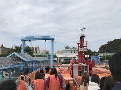 ということで、軍艦島上陸の前に高島に入って産業遺産の歴史をちょっと学びます