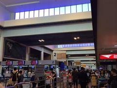 タクシーと交渉して400バーツでドンムアン空港まで。  あっという間に到着しました。バンコク市内から30分弱でついてしまって、ちょっとびっくりしました。もう少しゆっくりしてもよかったですね。