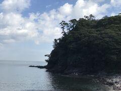 伊豆へ行く際、気になっていたけど寄ることがない真鶴半島  最初に立ち寄った場所は『琴ヶ浜海岸』