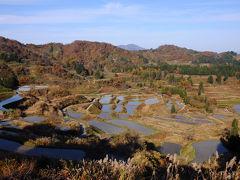 次に向かったのは、星峠。 松之山温泉から35分ほどで到着した。 そこには、小さな展望所が設けられていて、そこには美しい棚田が広がっていた。
