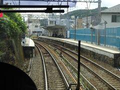 大池駅。 似たような構造の駅が続く。