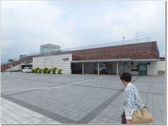 12:48  JR大石田駅に到着です。