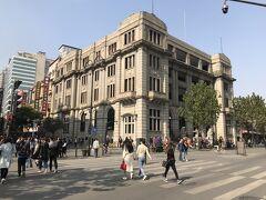 江漢路歩行街をぶらぶら。