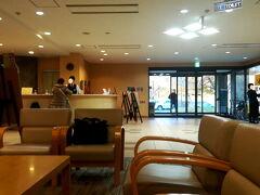 ロビーです。 建物はかなりきれいです。  日帰り入浴¥420 入浴可能時間は14:00~21:00受付終了22:00まで  https://www.qkamura.or.jp/taishaku/