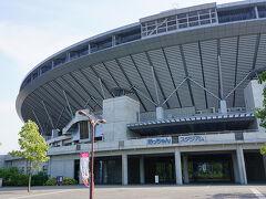 ●松山中央公園@JR市坪駅界隈  中央公園のメイン、坊ちゃんスタジアムです。 2000年に出来ました!