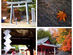 二荒山神社 中宮祠 こちらもまだまだ紅葉が残っていますよ♪