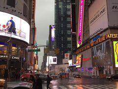 昨晩泊まったニュージャージーのモーテル「Super8」を出発し、バスでマンハッタンに到着したのは朝8:00。