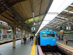 昭和の香りが漂う天王寺駅には103系がよく似合います。