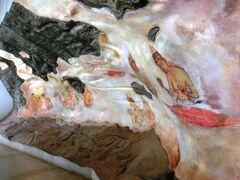 こちらがそのシーギリアレディ。 イギリス統治下の1875年に、イギリス人によって発見された壁画。 シーギリヤレディとは、天女のことを描いているとのことらしいですが、正確には不明だそう。 当初は500体ほど発見されたものの、風化が進み現在は18体だけしか残されていないんだって。