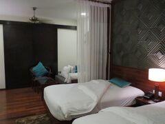 ロータスブランクリゾートに3連泊。