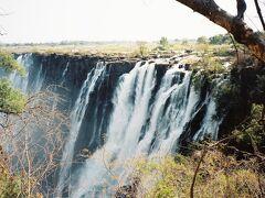 ザンビア側のイースト滝