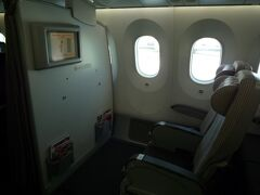 今回は航空券とホテルがセットになっているJALのダイナミックパッケージというものを利用しました。別々に手配するよりかなり安くなりました。   当日空港で、通路側で前方の座席をリクエストしたら、バルク席でした。人気の席のようですが、私的にはあまり・・・鞄は上に収納しないといけないし、モニターは目の高さにないし・・・ただし、機内泊があり窓側ならいいのかも。