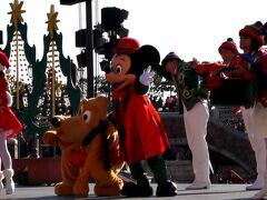 ミニー・オー!ミニーの後は、東京ディズニーシーへ移動し、パーフェクト・クリスマスを鑑賞!