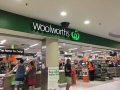 今度はウールワースというローカルスーパーに寄ることに