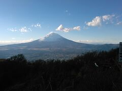 33年ぶりの金時山 雲が晴れて富士山頂も