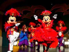 この日、最初のミニー・オー!ミニーをいつものように鑑賞! 好きな男性ダンサーも出演されてました。