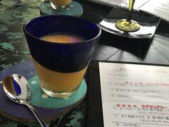 4日目☆ 食後のデザート(*´`) 優子さんところで頂くマンゴーシャーベットは格別( 'ω' ) なんのメニューにしようかなぁ。。