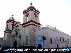 サン・アグスティン教会(Iglesia San Agustín)  カテドラル(Catedral de Trujillo)よりも古い教会です。