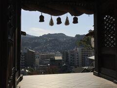 2日目。 諏訪神社へ。 何十年も前に私の七五三のお詣りをしたところ。昔から変わってないな~。