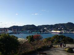 グラバー園から眺める長崎の海