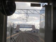 浜吉田。  最近まで仙台側の終着駅でした。ここから駒ヶ嶺までの間が新線に切り替えられました。