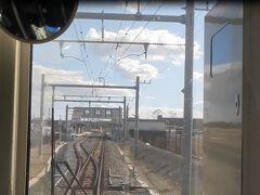 福島県へ入り、新地へ到着。