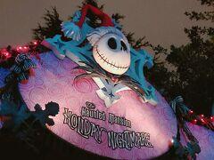 ハロウィン&クリスマスの ホーンテッドはマストですね。 よくこんなにクリスマス装飾をしたなと、毎回関心しちゃいます