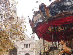 少し移動して聖カトリーヌ教会前のXmasマーケットへ。 レトロな観覧車がヨーロッパらしくて素敵!