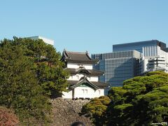 皇居 乾通りから眺める富士見櫓