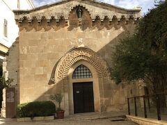 ヴィアドロローサ 第1留 -ピラトに裁かれる- 宣告の小聖堂