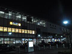 2日続けて早朝の岡山駅です。