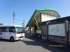 【その2】からのつづき  真岡鐵道の市塙駅から、那須烏山市営のバスに乗り、JR烏山線の終点・烏山駅前に着いた。
