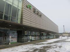 連絡バスで函館駅 スーパー北斗11までに一仕事