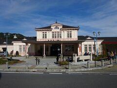 【その3】からのつづき  JR日光線に乗ってやってきた日光駅。 平日にもかかわらず、さすが観光客が多い。