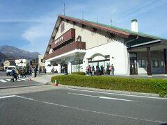 東武日光駅の前を通る。 ここからは誰も乗ってこなかった。