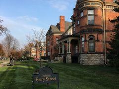 今回のデトロイトの宿泊ホテルです。 The Inn on Ferry Street