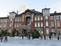 東京駅前の工事はおわり、すっきりした。