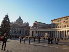 さて、サン・ピエトロ大聖堂へ。