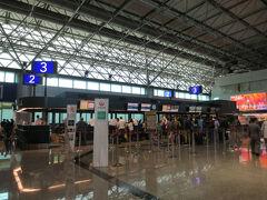 桃園空港に着いたのは10:40。