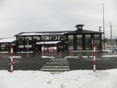 特に何もない終点の矢島駅について、すぐに引き返す。