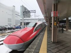 そのまま秋田に戻り、秋田新幹線こまちで田沢湖駅へ。田沢湖線=秋田新幹線なのですが、秋田新幹線は一時間に一本程度あるのに対して、田沢湖へのローカル列車は、7時間くらい列車が来ない時間帯もあります。
