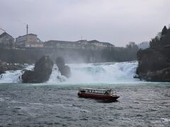 「ラインの滝」はヨーロッパ随一の水量を誇る最大の滝です。