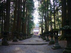 次の目的地に向かう途中 北口本宮富士浅間神社に立ち寄り