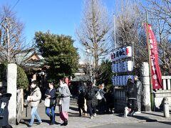 白鬚神社‐寿老人