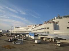 時刻は17:45、福岡に到着です。