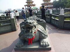 七重の塔「龍虎塔」を観光
