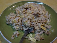 ●民生炒飯  美味しいのだけど、台湾一と言われれば、、、謎(笑)。以前に食べた、ホテルでの炒飯や鼎泰豐の方が、絶対に美味しい(笑)。