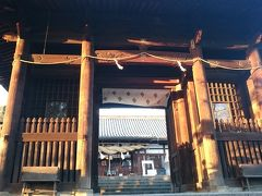 阿智神社の神門と拝殿📷 1700年の歴史がある古社なんだとか 御祭神は宗像三女神でご利益は交通安全など